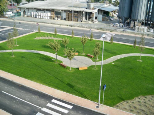 Illuminazione Area Verde - Elettroimpianti B.R.M.